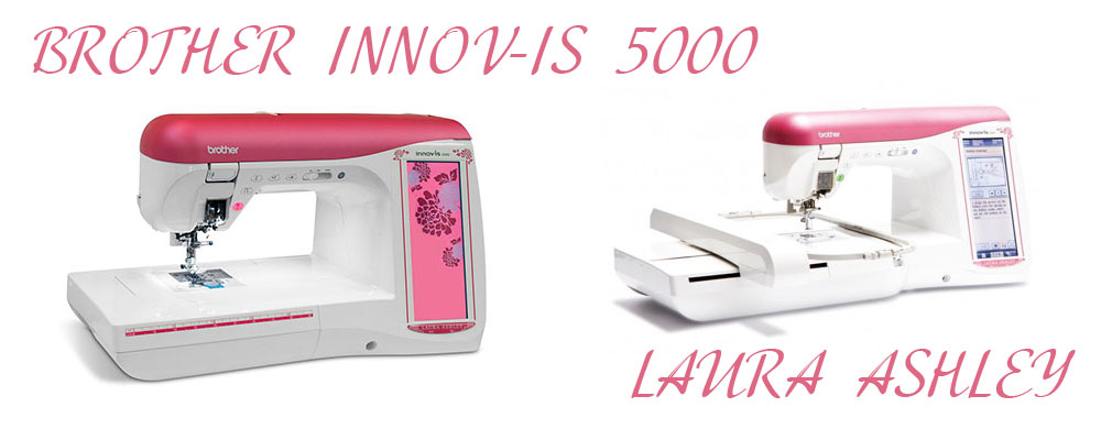 BROTHER INNOV-IS 5000 LAURA ASHLEY